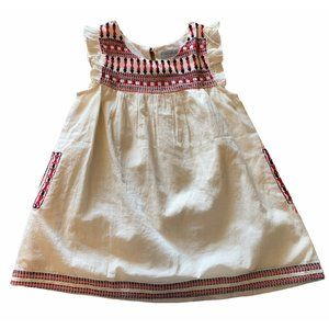 cupcakes and pastries toddler 2T embroidered dress